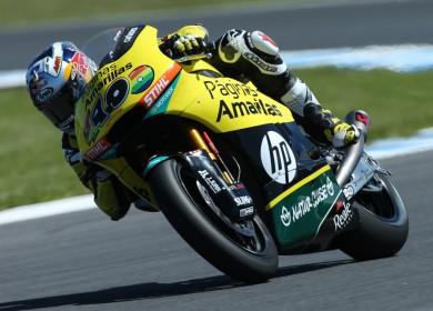 Maverick Viñales s'offre sa 3ème victoire cette saison, la 15ème de sa carrière. (Photo : Pons Racing)