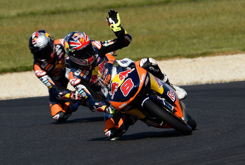 Jack Miller remporte la course Moto3 sur ses terres et reprend 5 points à Alex Marquez. (Photo : Ajo)