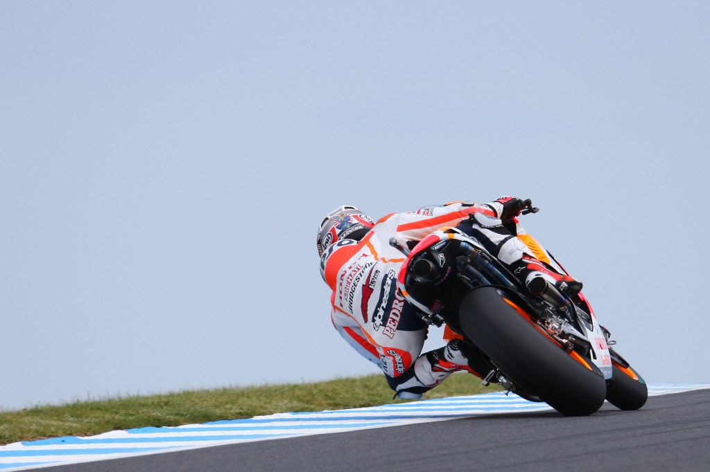 Passage en Q1, percuté en course, un week-end à oublier pour Dani Pedrosa. (Photo : Repsol Honda)