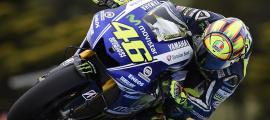 Valentino Rossi offre la 4ème victoire consécutive à Yamaha, la 108ème de sa carrière et la 81ème en MotoGP. (Photo : Yamaha MotoGP)