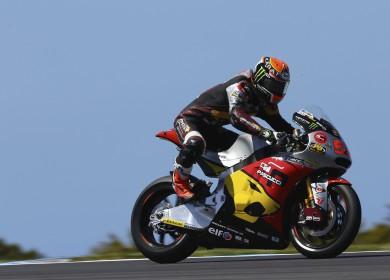 Après avoir dominé toutes les séances, Tito Rabat est le favori logique pour la course demain. (Photo : Marc VDS).