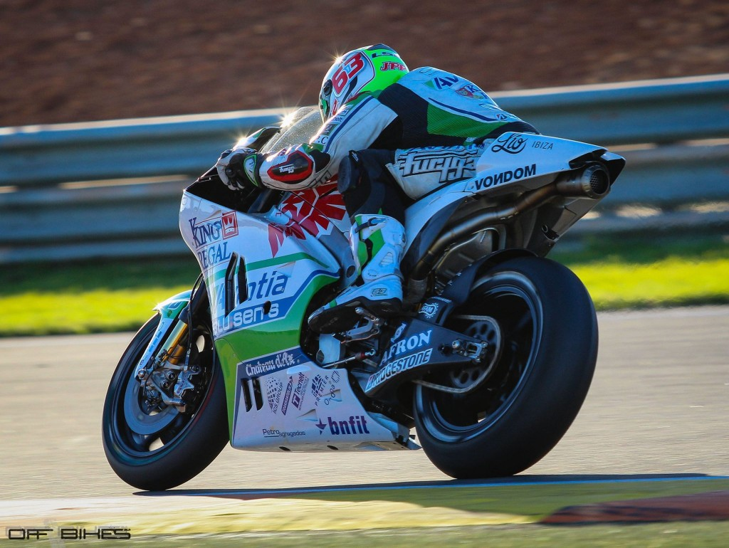 Mike Di Meglio termine positivement les tests de Valencia et Jerez. (Photo : Tom/OffBikes)