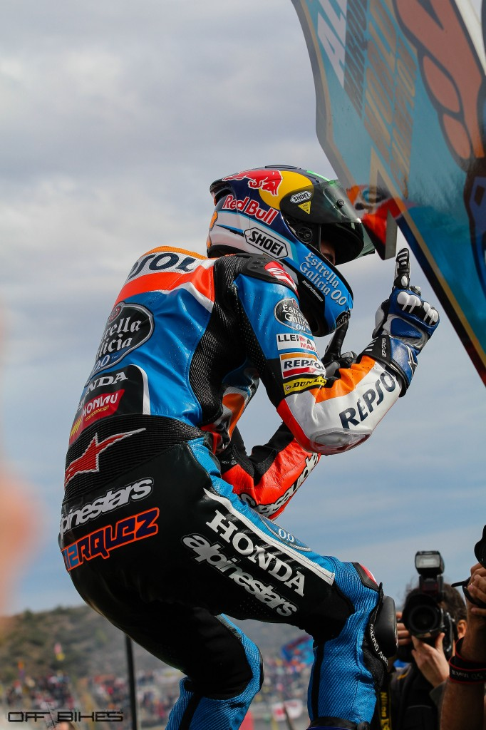 Alex Marquez est Champion du Monde Moto3 2014. (Photo : Tom/OffBikes)