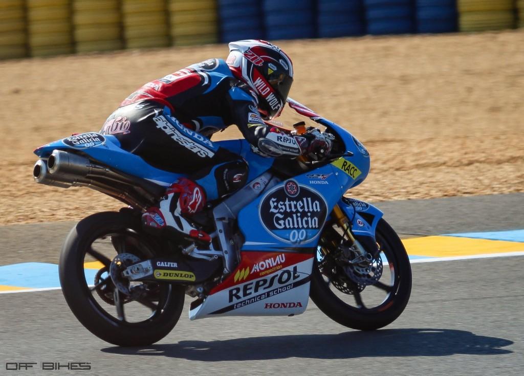 Fabio Quartararo est le dernier Champion CEV en catégorie Moto3. (Photo : Tom/OffBikes)