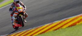 Florian Marino a eu une fin de saison 2014 chargée entre le mondial Supersport et le Moto2. (Photo : OffBikes)