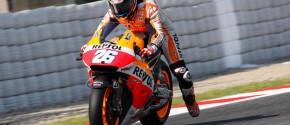 Dani Pedrosa souffre d'un problème à l'avant bras droit qui l'empêche de piloter. (Photo : OffBikes)