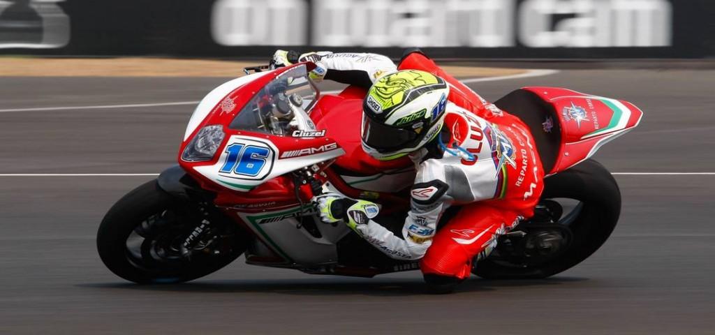 Jules Cluzel s'élancera depuis la 2ème position sur la grille de départ derrière Kenan Sofuoglu. (Photo : MV Agusta)