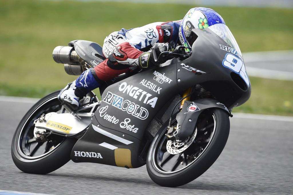 Jules Danilo termine 2ème pilote français à l'issue du test à Jerez. (Photo : Ongetta-Rivacold)