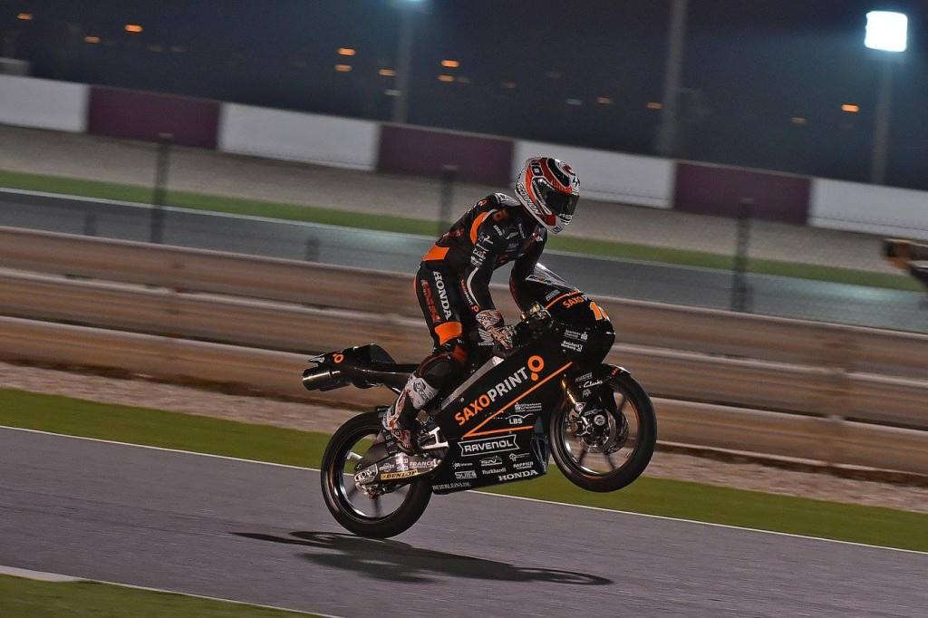 Alexis Masbou remporte son deuxième Grand Prix au terme d'une course splendide. (Photo : RTG).