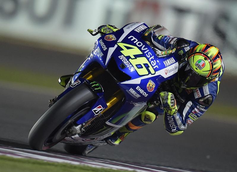 Valentino Rossi aura lutté jusqu'au dernier virage pour combler le manque de puissance de la Yamaha. (Photo : Yamaha MotoGP)