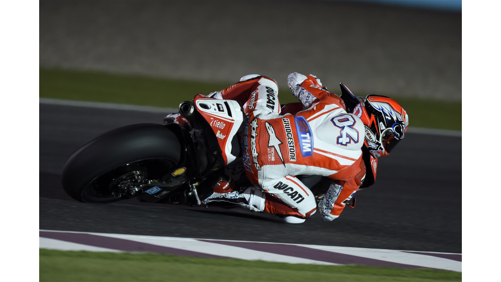 L'object de toutes les attentions : la Ducati GP15. (Photo : Ducati)
