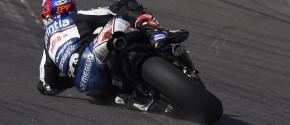 Mike Di Meglio a perdu l'avant durant la course mais le Français s'est rattrapé. (Photo : Mike Di Meglio)