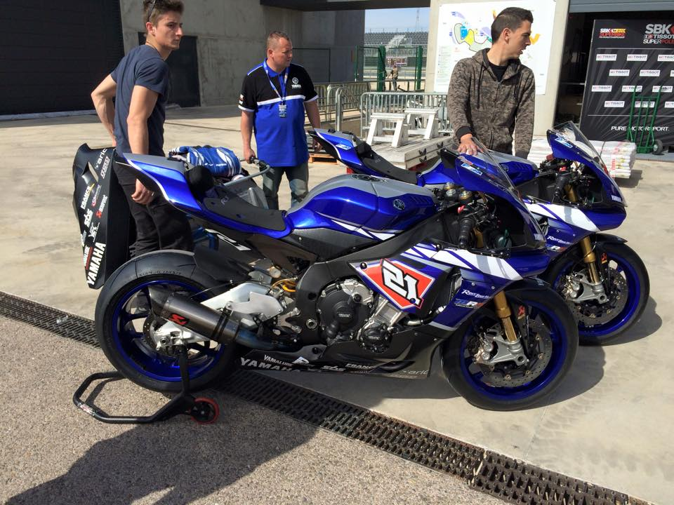 Les Yamaha YZF-R1M du MRS (Marino et Coghlan). (Photo : via MRS)