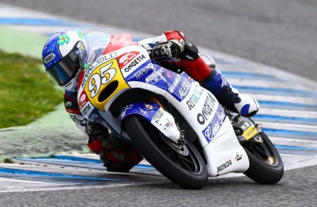 Jules Danilo est satisfait de ce premier Grand Prix malgré une course difficile. (Photo : Ongetta Rivacold Team)