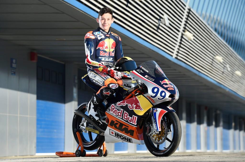 Enzo Boulom entame en confiance sa deuxième saison en Red Bull MotoGP Rookies Cup. (Photo : Red Bull)