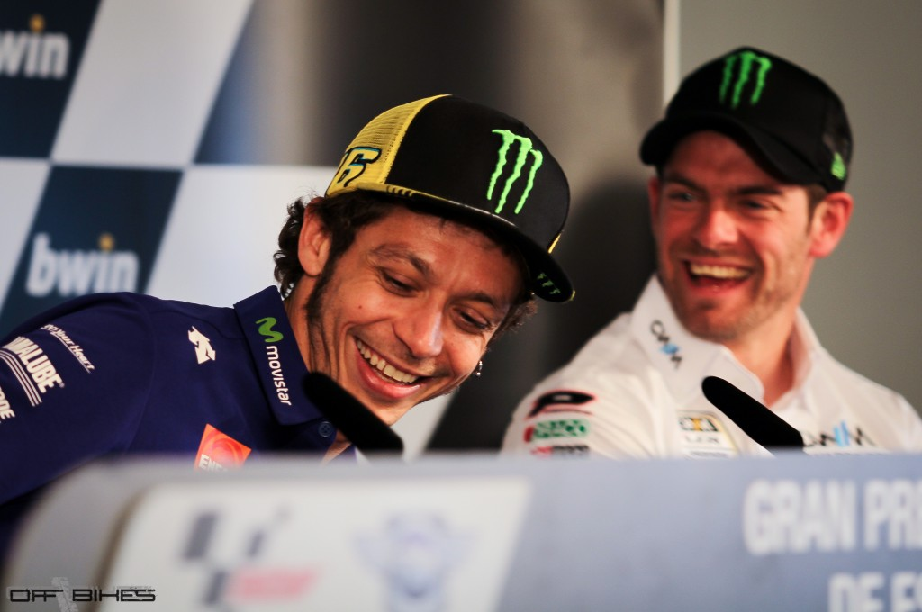 Valentino Rossi, leader et confiant pour ce week-end à Jerez. (Photo : OffBikes)