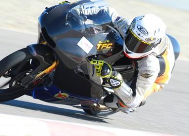 Enzo De Le Vega au guidon de l'Alerion GP. (Photo : Enzo De la Vega)