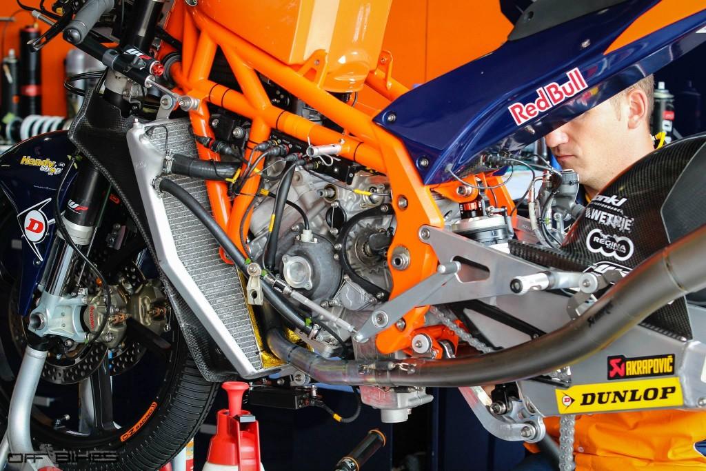 En 2016, contrairement à Honda, KTM maintiendra son soutien usine.