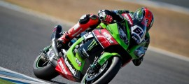 Tom Sykes prend l'avantage à Jerez. (Photo : KRT).