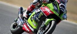 Jonathan Rea remporte son premier titre de Champion du Monde sur Kawasaki. (Photo : ©KRT)