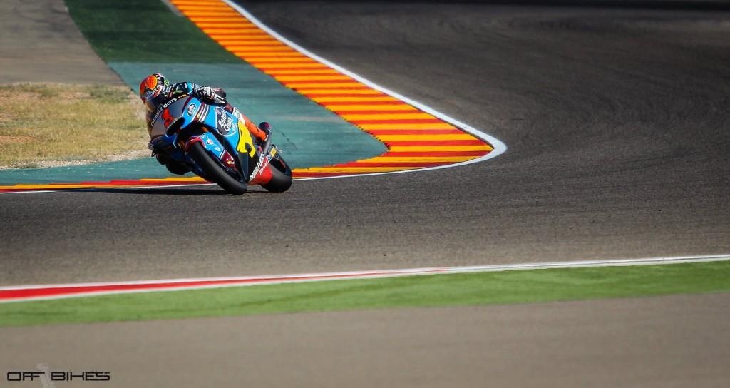 Tito Rabat s'est fracturé le bras lors d'une chute sur le circuit d'Almeria.