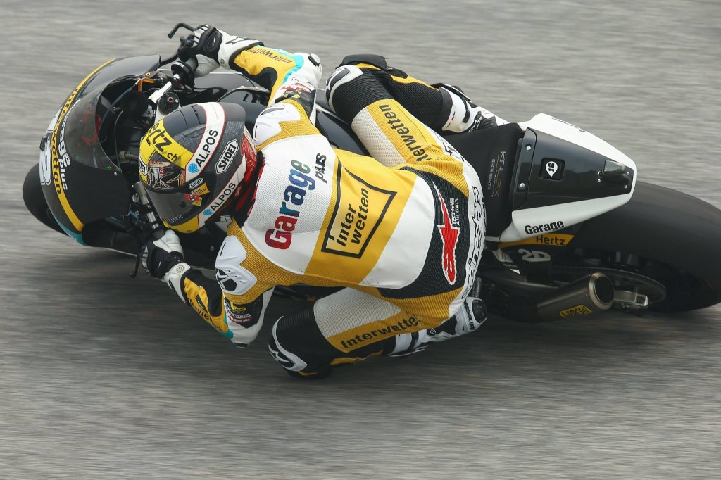 Tom Luthi s'empare de la 3e pole position de sa carrière en Moto2. (Photo : CarXpert Racing)
