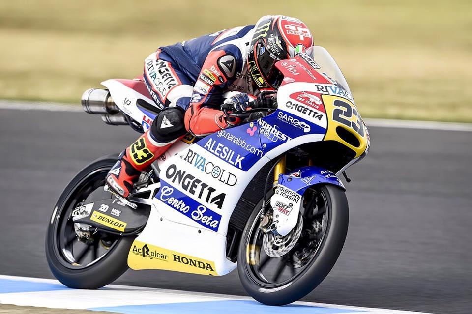 Niccolo Antonelli s'impose pour la deuxième fois de sa carrière. (Photo : Ongetta Team)