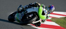 Kenan Sofuoglu est le nouveau Champion du Monde Supersport. Il offre un second titre à Kawasaki. (Photo : KRT)
