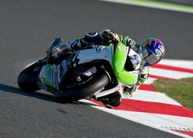 Kenan Sofuoglu est le nouveau Champion du Monde Supersport. Il offre un second titre à Kawasaki. (Photo : KRT)