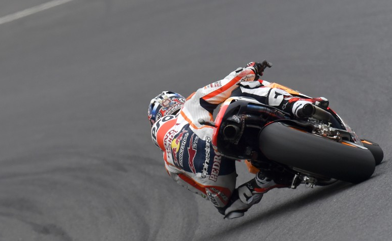 Dani Pedrosa remporte sa 50e victoire en Grand Prix. (Photo : Repsol)