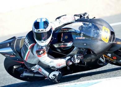 Mike Di Meglio reviendra à Jerez peu après la mi-décembre. (Photo : Gresini Racing)