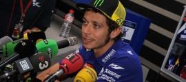 Valentino Rossi s'élancera dernier sur la grille dimanche.