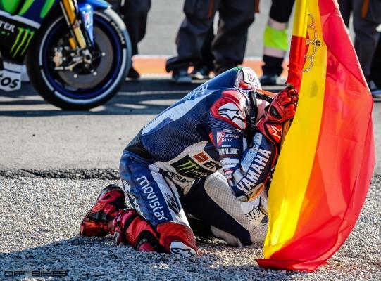 Jorge Lorenzo, Champion du Monde MotoGP 2015.