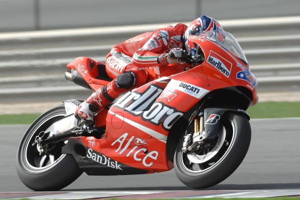 Casey Stoner s'est offert son premier titre MotoGP au guidon d'une Ducati en 2007. (Photo : Ducati)