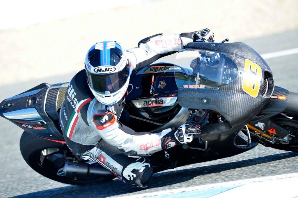 Prochain rendez-vous pour Mike Di Meglio : Valencia en janvier. (Photo : Gresini Racing)