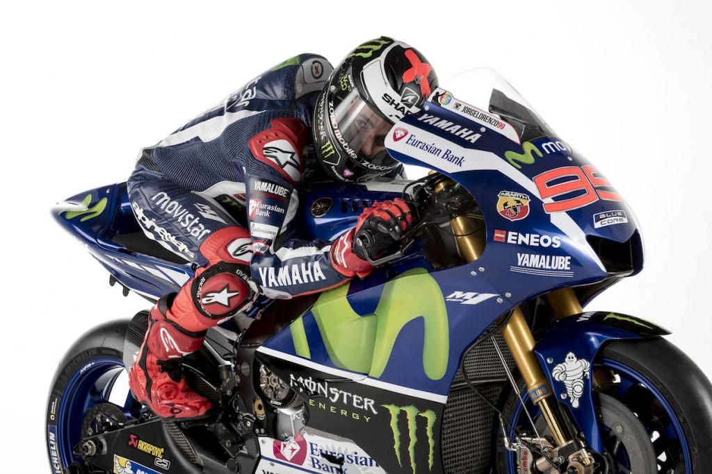 Jorge Lorenzo cherchera à défendre son titre. (Photo : Yamaha MotoGP)