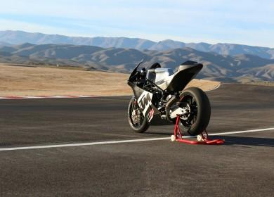 KTM et WP s'associent pour donner naissance à un châssis Moto2. (Photo : KTM Racing)