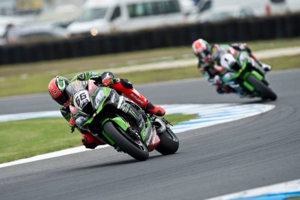 Tom Sykes en pole position à Phillip Island. (Photo : KRT)