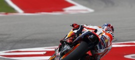 Marc Marquez, invaincu à Austin. (Photo : Honda)
