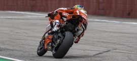 Chaz Davies, intouchable à Imola. (Photo : Ducati)