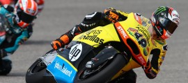 Alex Rins est second au Championnat derrière Lowes. (Photo : Pons).