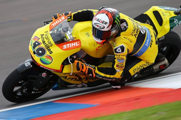Alex Rins bat le record du tour aujourd'hui à Austin. (Photo : Pons)
