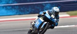 Romano Fenati a dominé la course Moto3 à Austin. (Photo : SKY VR46)