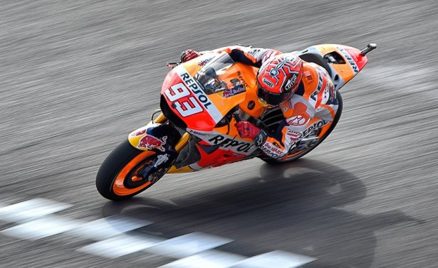 Marc Marquez pose ses marques en Argentine. (Photo : Honda Repsol)