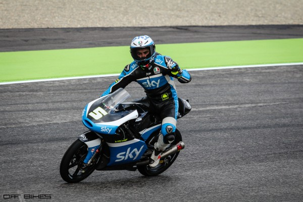 Romano Fenati signe la troisième pole de sa carrière.