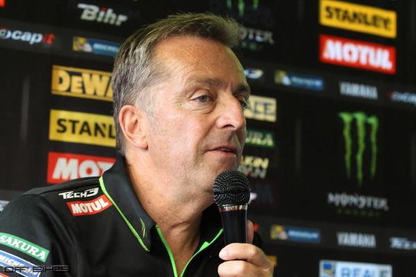 Hervé Poncharal est déçu de ne plus être en mesure d'attirer les jeunes pilotes.