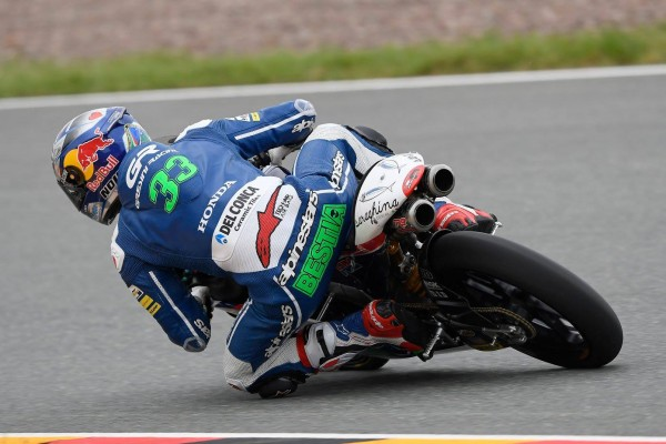 Enea Bastianini s'élancera de la pole position demain. (Photo : Gresini)