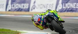 Valentino Rossi avait le potentiel de la première ligne.