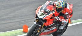 Chaz Davies a dominé les hostilités au Lausitzring samedi. (Photo : Ducati)