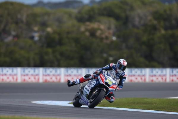 Loris Baz contraint à l'abandon à Phillip Island. (Photo : Avintia Racing)